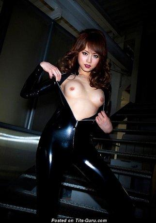 Akiho Yoshizawa - Fine Asian Babe with Fine Bald Mini Knockers (Xxx Picture)