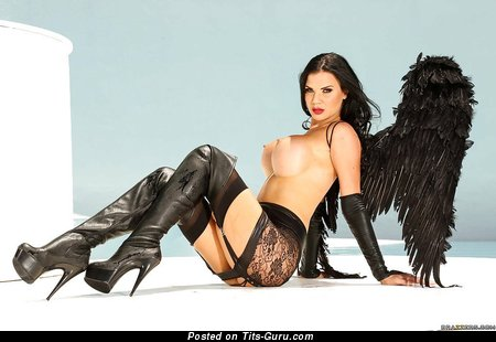 Jasmine Jae: sexy naked red hair with fake tots picture