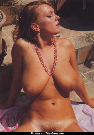 Image. Vicki Patterson - nude wonderful lady with big natural tits and big nipples vintage