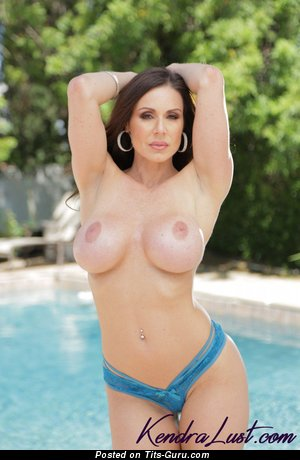 Image. Kendra Lust - sexy nude brunette with big tots photo