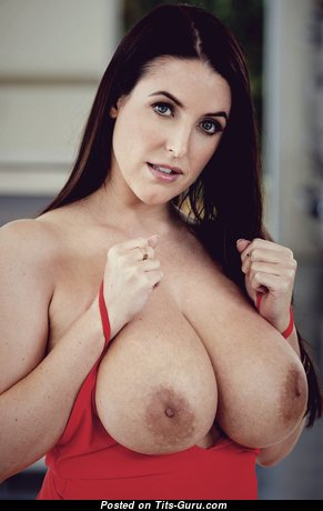 Angela White - Gorgeous Australian Brunette Pornstar & Babe with Gorgeous Nude Natural Substantial Tits (Hd Sexual Photoshoot)