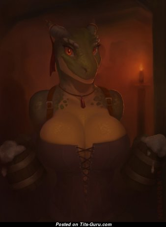 Argonian - Fine Non-Nude & Glamour Nerd is Doing Fitness (Hd Sexual Photoshoot)