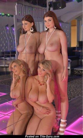 Lucy Li - sexy nude blonde image