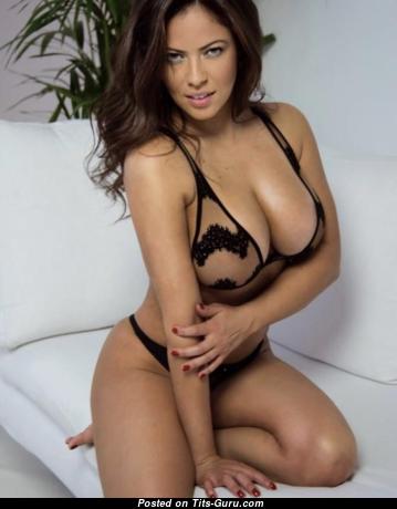 Fabiana Britto De Melo - Charming Non-Nude Brazilian Red Hair with Charming Natural Titty (Sex Wallpaper)