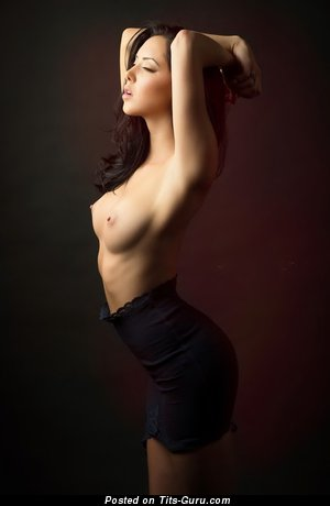 Image. Naked beautiful lady with natural tittys photo
