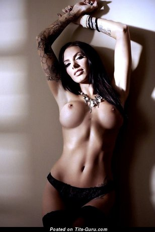 Naked hot lady with big tittys photo