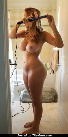 Image. Naked awesome lady with big natural tits photo