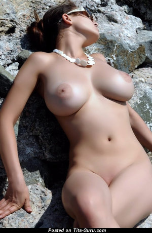 Image. Sexy naked beautiful girl with natural tots pic