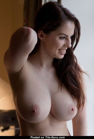 Pleasing Babe with Pleasing Bare Natural Tight Tittes (Sex Image)