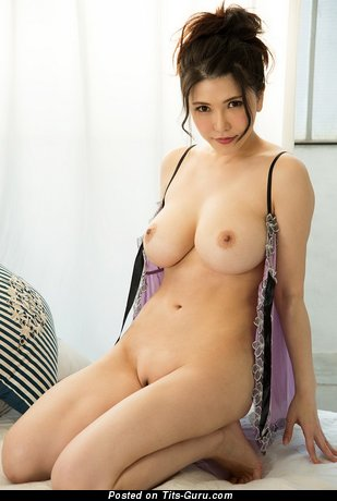Anri Okita - Cute Topless Japanese, British Brunette Pornstar with Cute Bare Real Mid Size Hooters (Hd Xxx Pix)