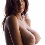 Jana Defi - amazing girl with huge natural breast photo