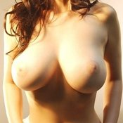 Beautiful woman with huge breast pic