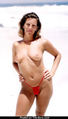 Alex - The Nicest Topless Honey with The Nicest Bare Real Boob in Bikini on the Beach (Private Hd 18+ Picture)
