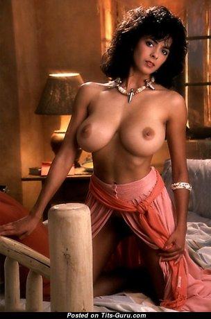 Roberta Vasquez - Good-Looking American Playboy Brunette with Good-Looking Bald Mid Size Jugs (18+ Pic)