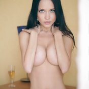 Amazing female with big natural breast image