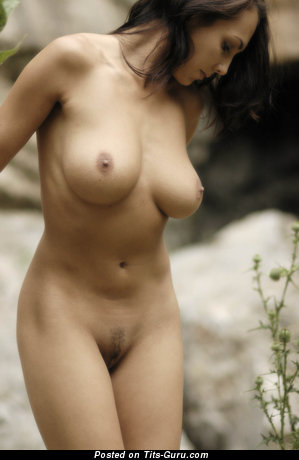 Image. Nude wonderful girl with big natural breast pic