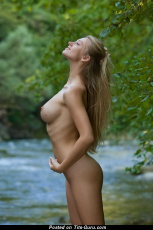 Image. Naked amazing female with big natural tittes photo