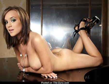 Image. Rosie Jones - naked brunette with big natural tittys picture