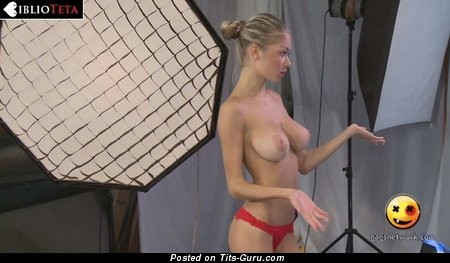 Alina Burachenko - Fascinating Blonde Babe with Nice Bald C Size Tittes (Hd Porn Photo)