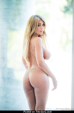 Kayla Kayden - sexy naked blonde with big boobs photo