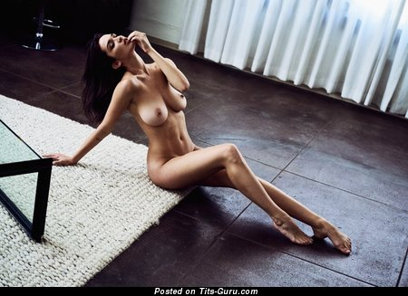 Image. Nude nice lady with big tots image