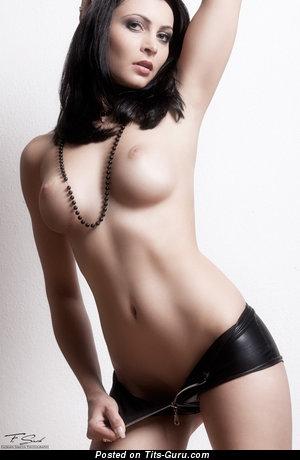 Image. Nice lady with medium tits photo