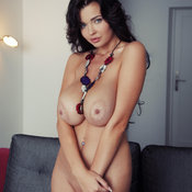 Катя Сидоренко Aka Sha Rizel - hot female with huge natural boobies image