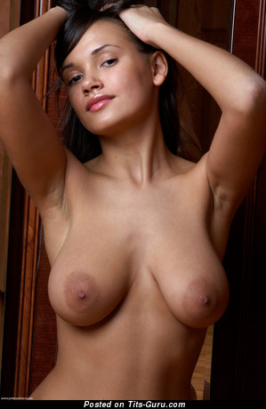 Alona - nude brunette with natural tittys pic
