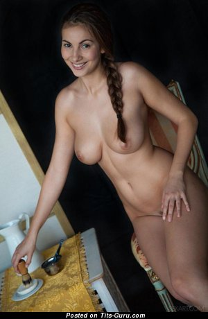 Image. Connie Carter - nude nice female with medium natural breast photo