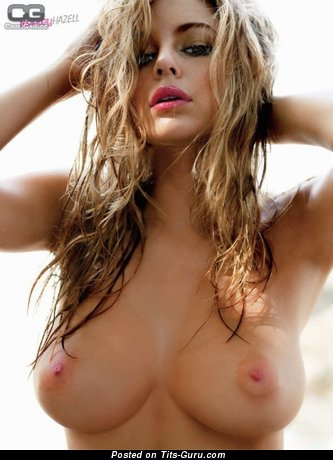 Keeley Hazell - Dazzling British Babe with Dazzling Bald Real Firm Boobie & Piercing (Sex Photoshoot)