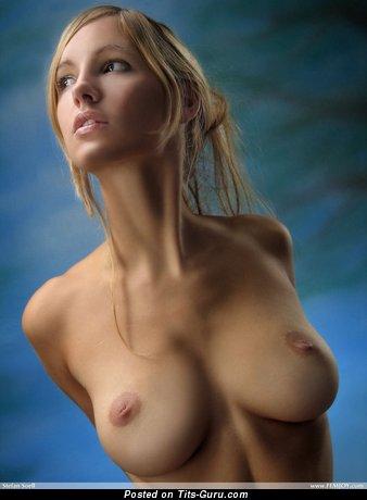 Daniela Rosch - nude blonde with medium natural boobies photo