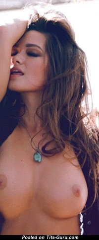 Pretty Topless Miss Opening Perfect Nude Mid Size Boobys (Sexual Gif)