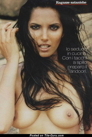 Padma Lakshmi - Perfect Indian, American Brunette Actress with Perfect Defenseless Natural C Size Hooters (Hd Xxx Image)
