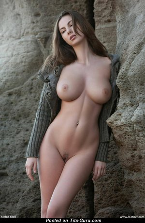 Image. Connie Carter - sexy naked brunette with medium natural tits pic