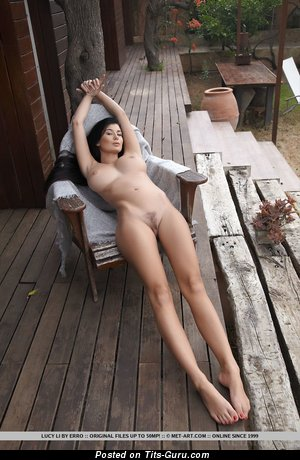 Image. Lucy Li - naked awesome lady with big tittes picture