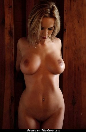 Image. Blonde with big breast photo