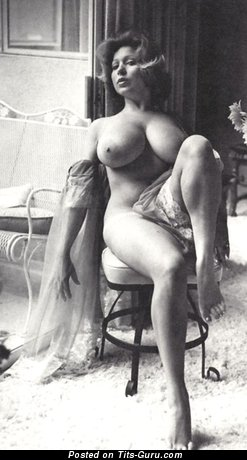 Image. Amazing woman with big tittes vintage
