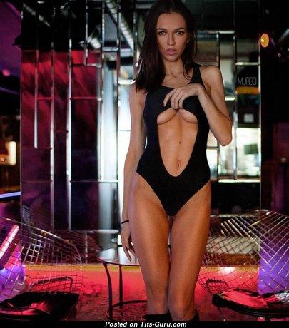 Anastasia Martzipanova - Wonderful Glamour & Non-Nude Russian Brunette Babe with Sexy Legs (Sex Wallpaper)