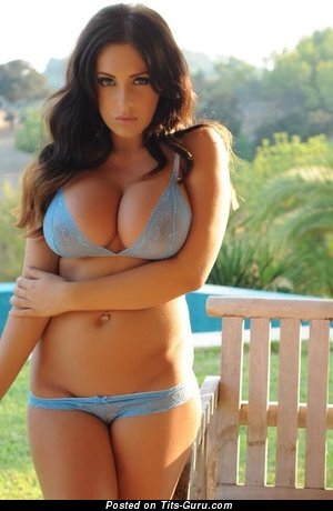 Appealing Doxy with Appealing Bare Ddd Size Boobies (Porn Picture)