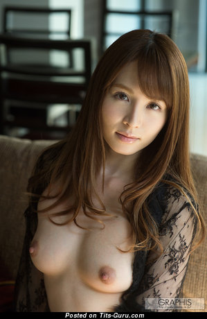 Image. Miku Ohashi - sexy naked asian brunette with medium natural breast photo