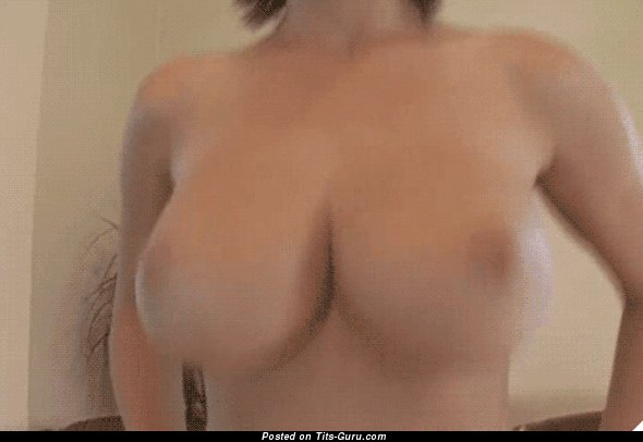Image. Nude wonderful lady with big boobs gif