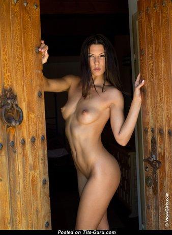Alexa Tomas - Nice Latina Brunette Pornstar with Nice Bare Natural Small-Scale Jugs (Hd Porn Foto)