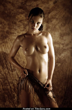 Image. Wonderful woman with natural breast image