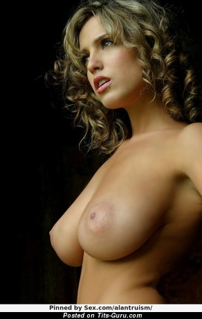 Image. Nude wonderful woman with big natural tittes photo