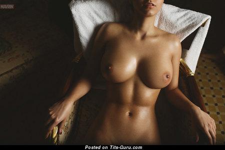 Image. Naked wonderful female with big tittes photo