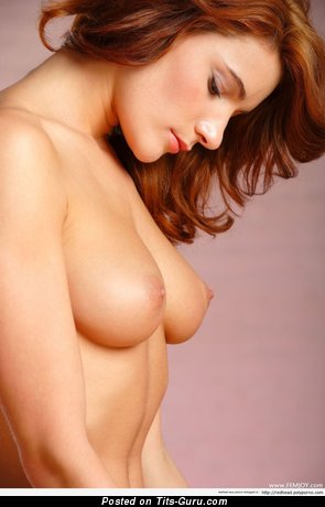 Image. Naked amazing girl with medium natural tits photo