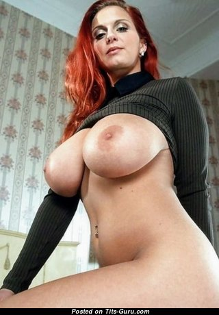 Cute Glamour Moll with Cute Naked Real Very Big Busts (Sexual Wallpaper)