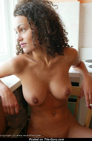 Image. Masha Kozlova - nude nice woman with natural boobies picture