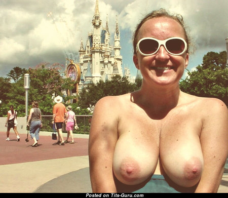 Handsome Topless Bimbo (on Public 18+ Pic)