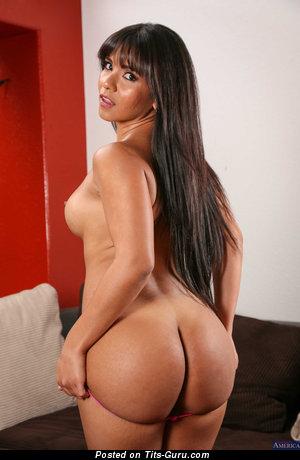 Rose Monroe - Pretty Venezuelan Brunette Pornstar with Pretty Open Real Chest (Hd Porn Wallpaper)